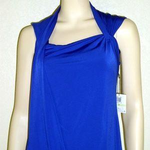 Muse NWT Toga Drape Polyester Dress #3227